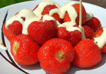 Strawberries and cream