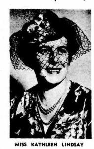 Prolific writer Kathleen Lindsay
