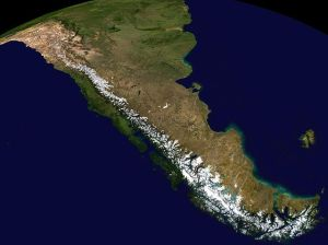 Andes Mountain range