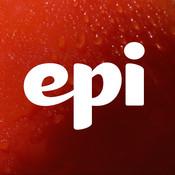 Epicurious app logo- vocabulary