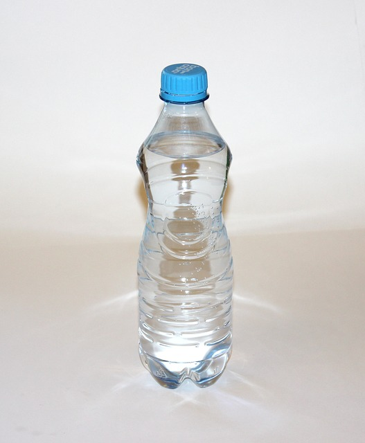 Mineral water bottle- Water clock