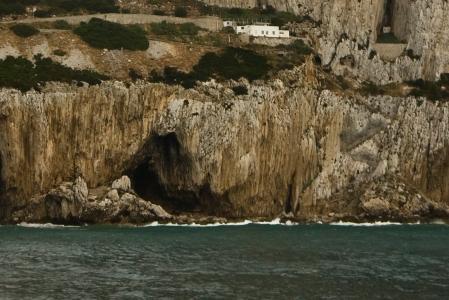 Gorham's cave