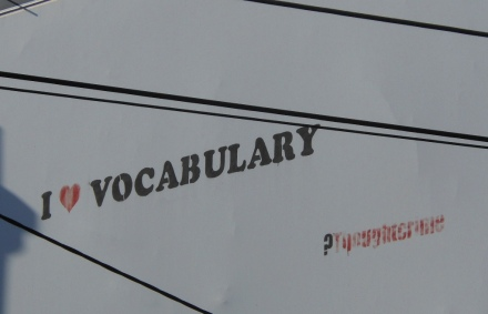 Vocabulary love