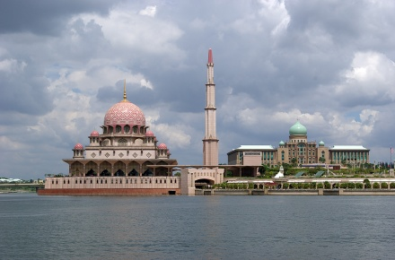 Putrajaya - Putra Mosque and Perdana Putra Complex, Malaysia
